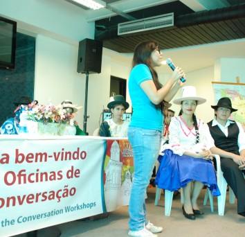 Conversando a cultura da Bolívia
