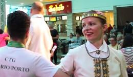 A dança letã representada por Dace